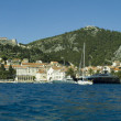 Stock Photo: Panoramof Hvar town in Hvar island,Croatia