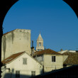 St. Duje Cathedral in Split — Stock Photo