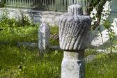Nagrobek muzułmańskich w starym cementary — Zdjęcie stockowe