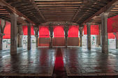 Venice empty market place — Stock Photo