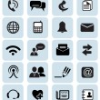 Stock Vector: Communication icons