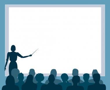 Business presentation,seminar