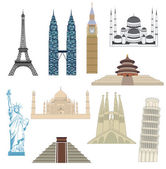 Travel icons. — Stock Vector