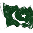 Pakistani Flag Grunge — Stock Photo