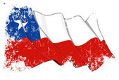 Chile Flag Grunge — Stock Photo