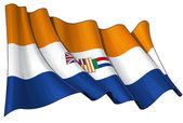 South Africa 1928-1994 Flag — Stock Photo