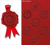 Wax Shield - Award Winner — Stock Vector