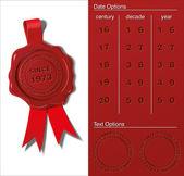 Wax Shield - Since When — Stock Vector