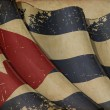 Cuban Flag Old Paper — Stock Photo