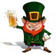 "Stock Vector: St. Patrick ""Cheers"""