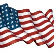 US Flag WWI-WWII (48 stars) — Stock Photo #29228919