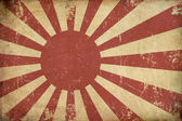 Japan's Emperial Navy Ensign Flat Aged — Stock Photo