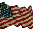 US Flag WWI-WWII (48 stars) Historic Flag — Stock Photo #29230187