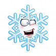 Snowflake Head - AHA — Stockvector #38120083