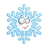 Snowflake Head - Heh — Stock Vector