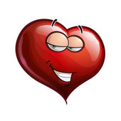 Heart Faces - Hey Sweetie — Vector de stock