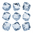 Foto Stock: Ice cubes