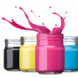 Cmyk ink — Stock Photo #29760357