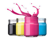 Cmyk ink — Stock Photo