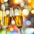 Champagne toast — Stock Photo