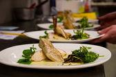 鸡菜 — 图库照片