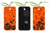 Halloween price tags — Stock Photo