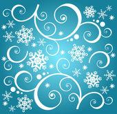 Sfondo di neve — Foto Stock