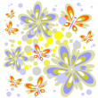 Floral background - 图库照片