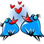 Blue birds — Stock Photo #20472519