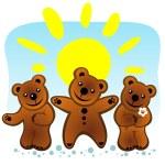 Постер, плакат: Three bears