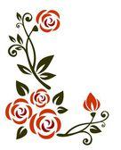 Flowers pattern — Stock Photo