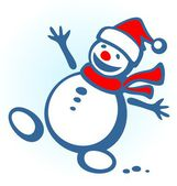 Christmas snowball — Stock Photo
