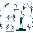 Sport symbols set — Stock Photo #26810947