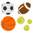 Ball set — Stock Photo