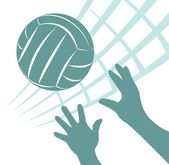 Volleyball — Stock Photo
