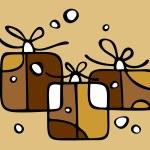 Gift boxes set — Stock Photo #30320899