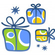 Gift boxes — Stock Photo #30320905