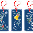 Christmas price tags set — Stock Photo