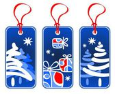Christmas price tags — Foto de Stock