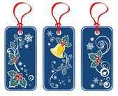 Christmas price tags set — Stockfoto
