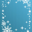 Blue winter background — Stock Photo #36690033