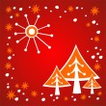 Christmas trees — Stock Photo #37208535