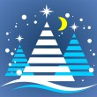 Christmas tree symbol — Stock Photo