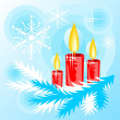Candles background — 图库照片
