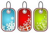Kerstmis prijskaartjes — Stockfoto