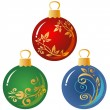 Christmas balls — Stock Photo #37974965