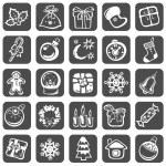 Christmas symbols set — Stock Photo #37975055