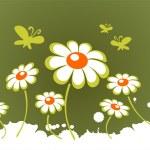 Ornate spring flowers — Stock Photo #38196319