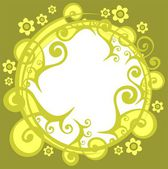 Green pattern — Стоковое фото