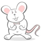 Cheerful mousy — Stock Photo